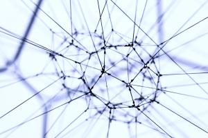 neural net small blue