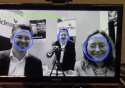 Face detection at CES 2014