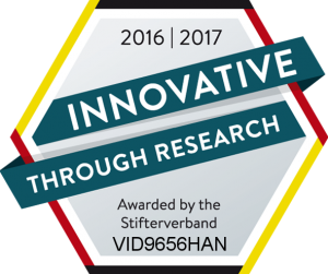 Innovation through Research Logo