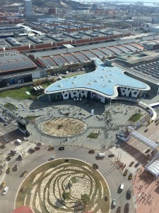 Mobile World Congress from above