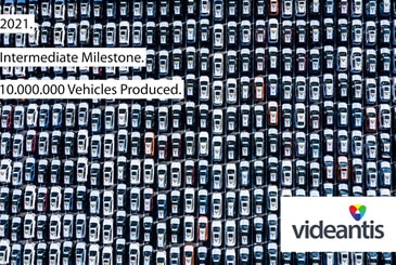 Videantis passes milestone of enabling 10 million production vehicles
